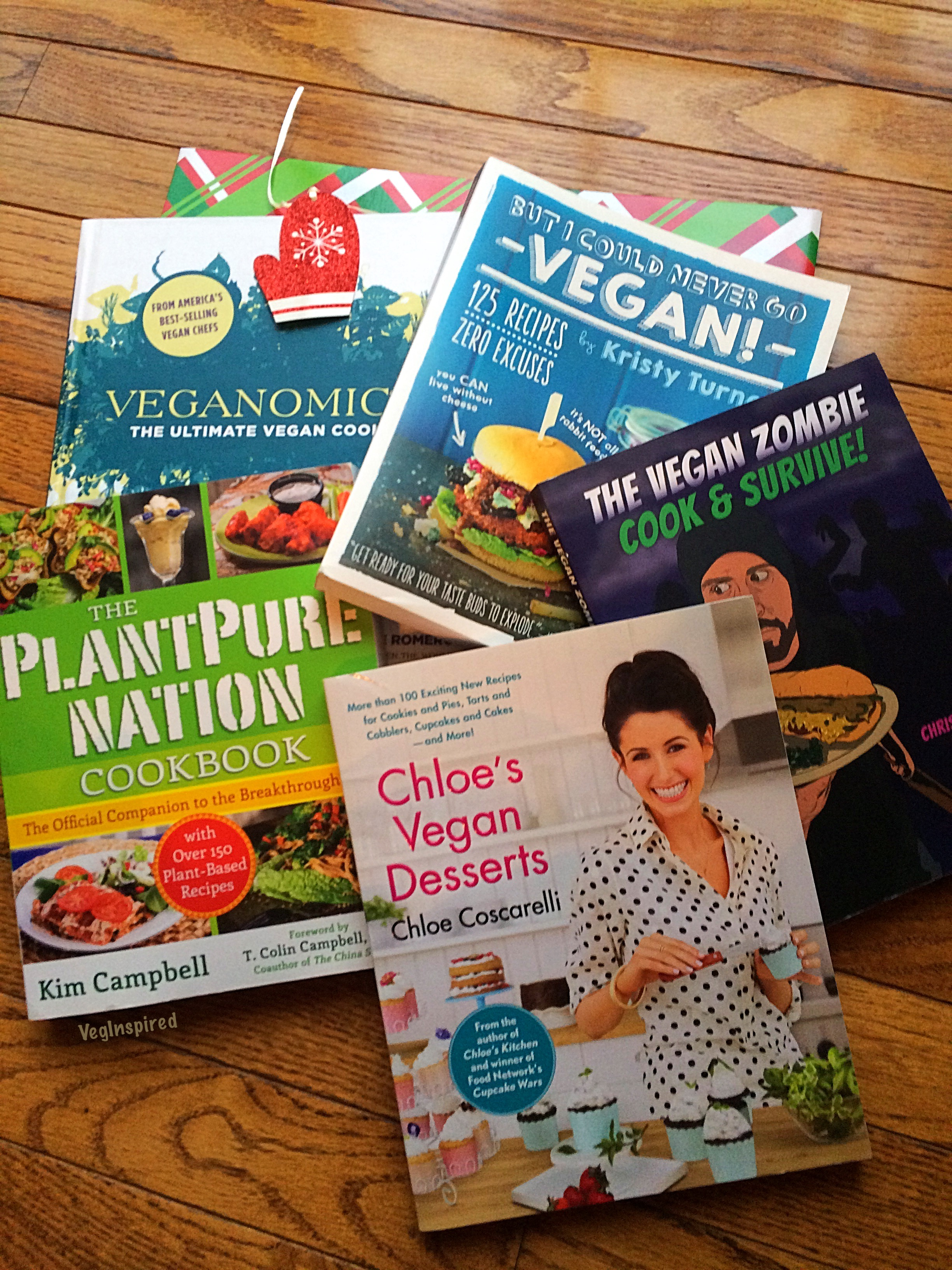 Vegan Cookbooks 11.23.16
