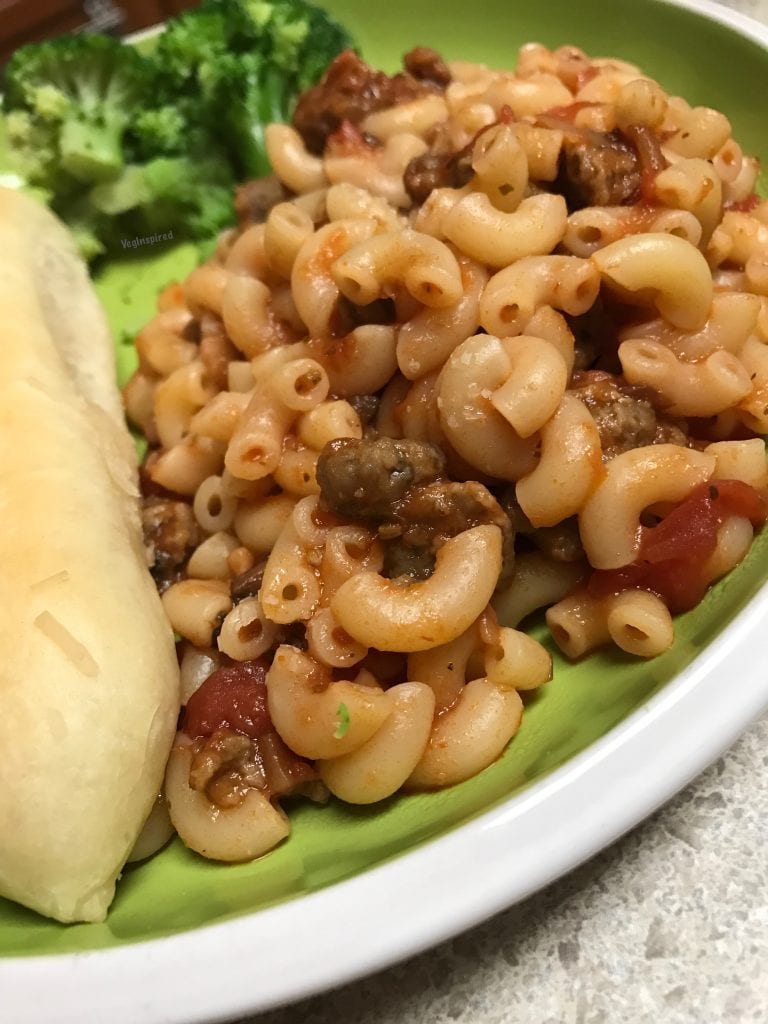 Easy Vegan Goulash