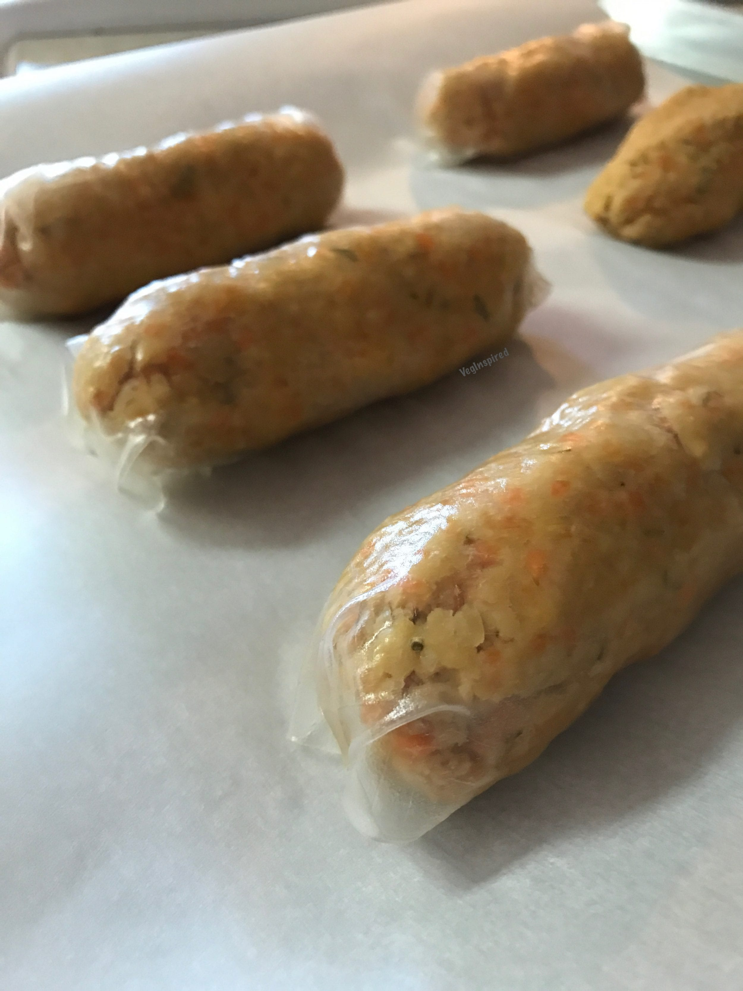 Chickpea Bangers