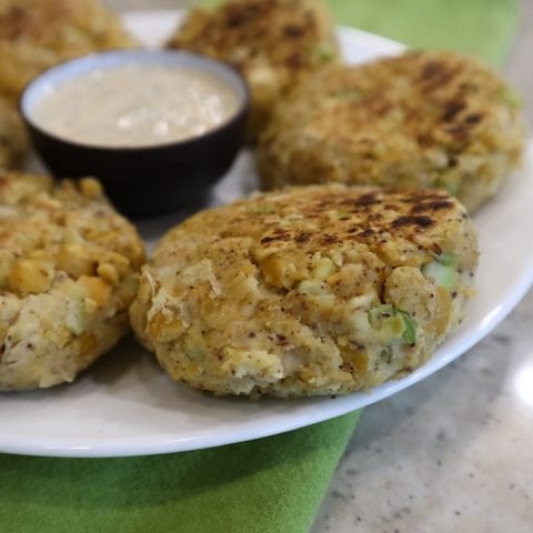 Chickpea Cakes