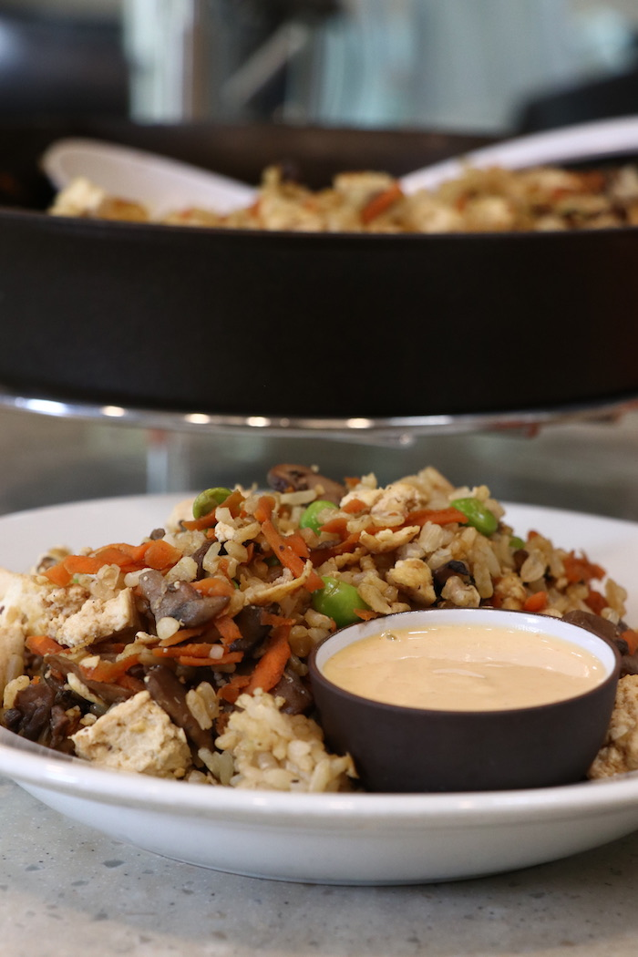 Fried Rice and Yum Yum Sauce VEGAN