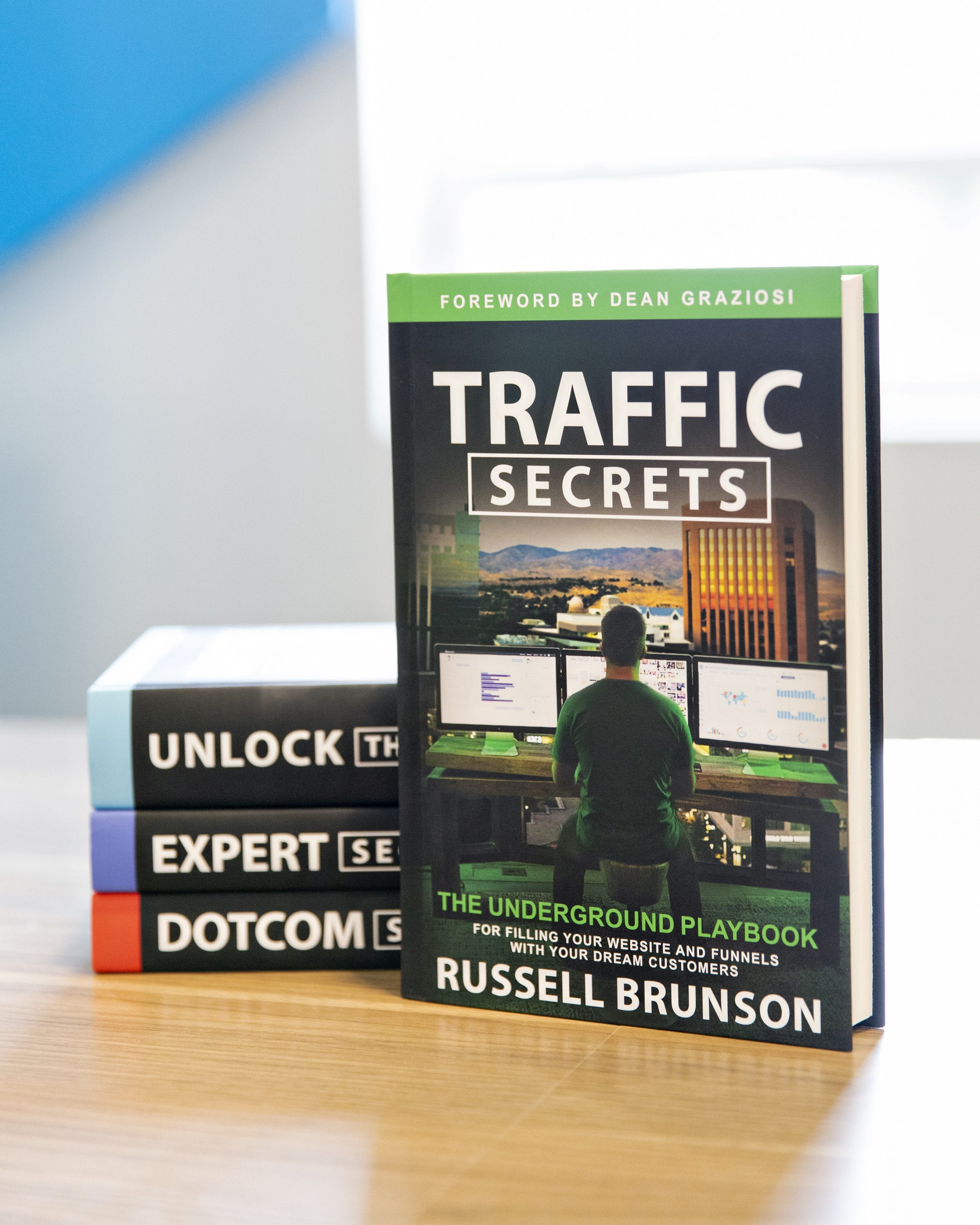 Traffic Secrets and Russell Brunson's other Marketing Books