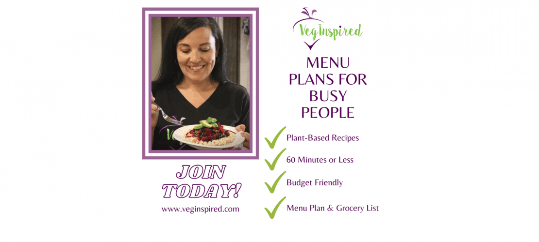menu and meal plans for plant based eaters