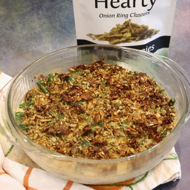 plant based green bean casserole
